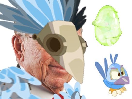 Sticker larry silverstain pano kwak glace chance dofus houx circulez oui madame 11 septembre argent prospection lobby