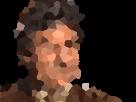 Sticker jesus deforme carrele carre art artistique