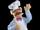 Sticker muppet chief chef