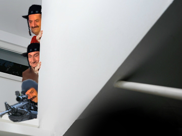 Sticker celestin chut escalier juif