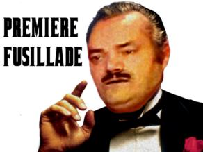 Sticker mafia risitas mafieux don corleone corleone thug film italie fusillade premiere page