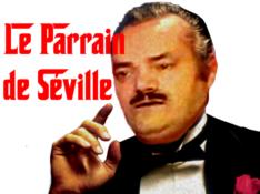 Sticker mafia risitas mafieux don corleone corleone thug film le parrain seville