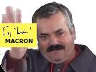 Sticker macron en marche vote 2017 presidentielles