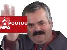 Sticker philippe poutou npa nouveau parti anticapitaliste elections 2017 presidentielles
