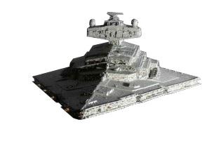Sticker star wars jedi empire dark vador vaisseau spatial espace navette cosmique croiseur interstellaire destroyer