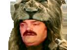 Sticker risitas hercule guerrier dwayne johnson guerre tueur mythologie tete de lion