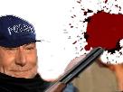 Sticker police fusil tuer taire tete explosion