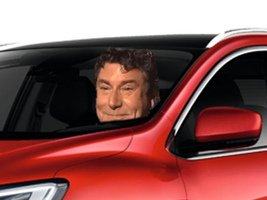 Sticker steve forum automobile voiture renault kadjar