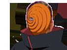 Sticker risitas manga tobi naruto masque obito