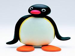 Sticker pingu pingouin normal