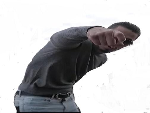 Sticker pnl nos da arme pistolet flingue