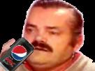 Sticker risitas pepsi max canette soda boisson coca cola