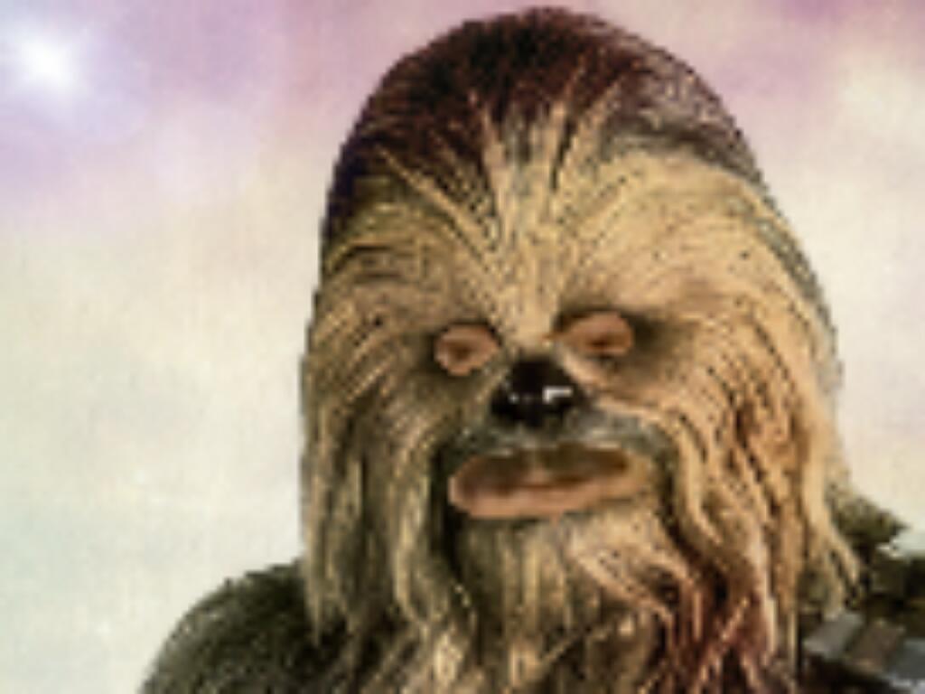 Sticker chewbacca star wars
