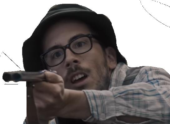 Sticker kemar fusil