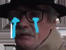 Sticker pleure issou