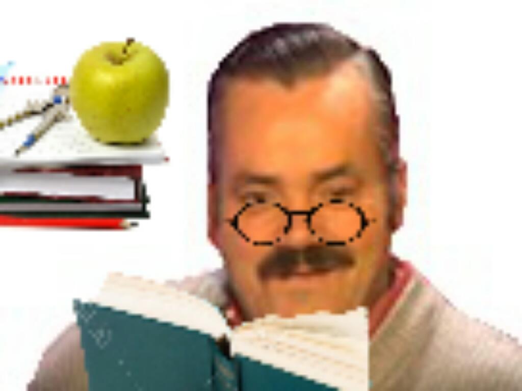 Sticker risitas etudiant ecole livre etude fac lunette travail universite etudier lire