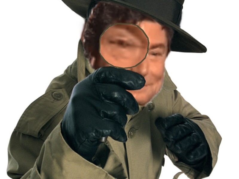 Sticker detective jesus gilbert