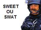 Sticker sweet swat suite fic gign raid gipn police gendarmerie issou risitas jesus