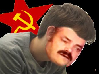 Sticker risitas celestin bobo gauchiste gaucho gauchiasse melenchon hamon communiste