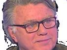 Sticker gilbert collard y a rien qui vous a marque dans le temps des cerises face a ferrari content satisfait