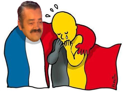 Sticker belgique belges risitas attentats