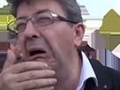 Sticker melenchon pleure snif echec merluche insoumis faire barrage au fn 2017 11