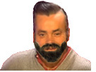 Sticker risitas bg sourire narquoi sournois provocateur ultimealpha undercut gomuscu barbe