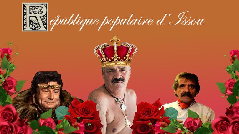 Sticker rpi republique democratique issou colonissou risitas jesus quinteros