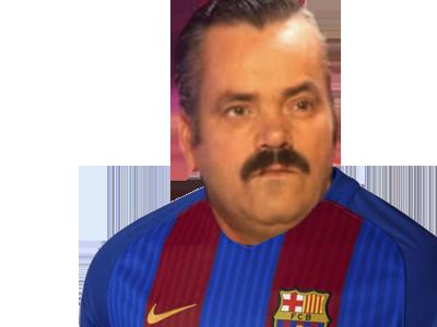 Sticker supporter fc barcelone football foot