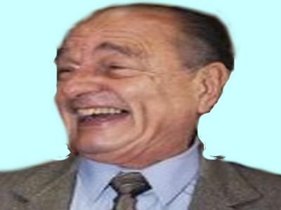 Sticker chirac rire president rigolo homme patron directeur pere lr monsieur fake mdr