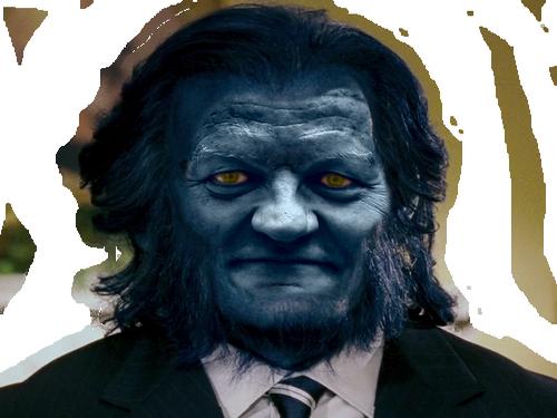 Sticker asselineau upr fauve beast x men directeur marvel savant intelligent bete loup monstre wolverine professeur doyen