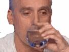 Sticker philippe poutou boit larmes debat