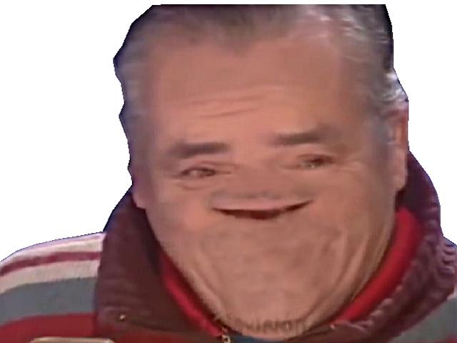 Sticker deforme lol sourit sourire rigole moque hap content deformer fatiguer fatigue basique risitas rire rigoler
