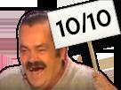 Sticker panneau 1010 10 note
