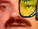 Sticker dragonball scan risitas choque zoom dbz