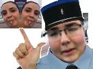 Sticker handek 2 handeks 2 hendeks hendek police handek police