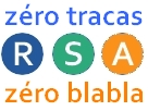 Sticker rsa mma zero blabla tracas prolo logo