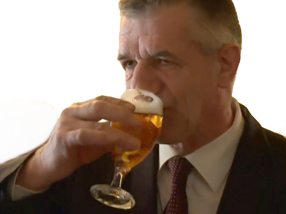 Sticker lassalle biere politique