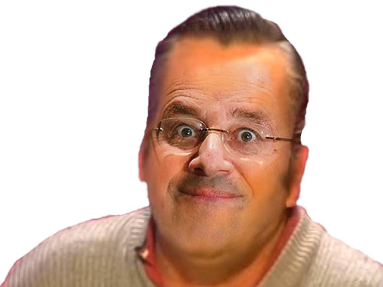 Sticker francois hollande president risitas