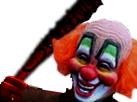 Sticker risiclown risitas clown tueur