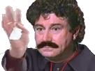 Sticker jesus quintero moustache