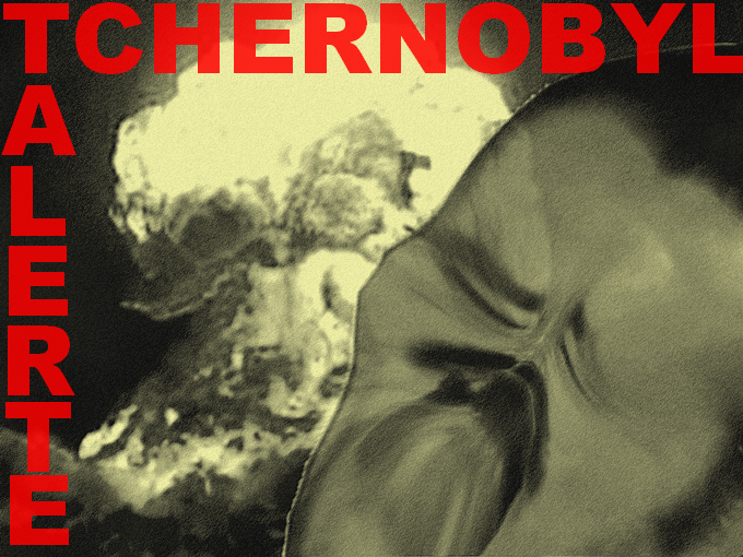Sticker explosion alerte tchernobyl nucleair nucl bombe maximal chimique attaque gaz moutarde guerre mondial