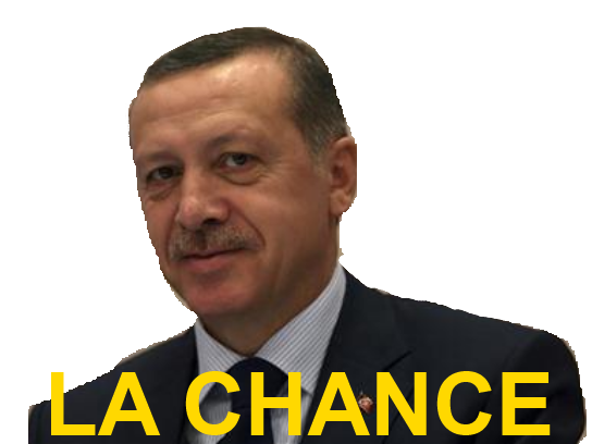 Sticker erdogan la chance elections turquie