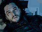 Sticker jon snow mort game of thrones