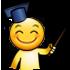 Sticker teacher professeur sticker sourire smiley jvc sltlebrockriiez