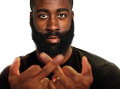 Sticker kaaris james harden double fuck rap nba basket