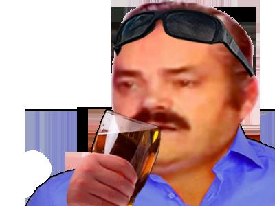 Sticker ete biere risitas