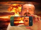 Sticker risitas ww3 selfie fin du monde nuke