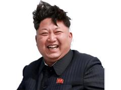 Sticker kim jong un korea mdr lol