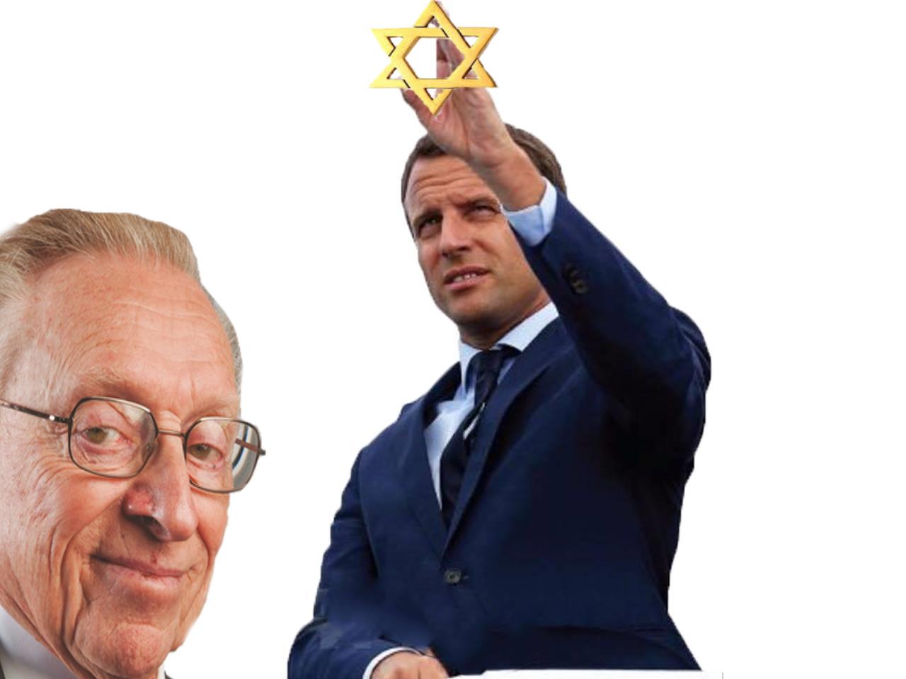 Sticker larry macron juif chance elections 2017 la silverstein